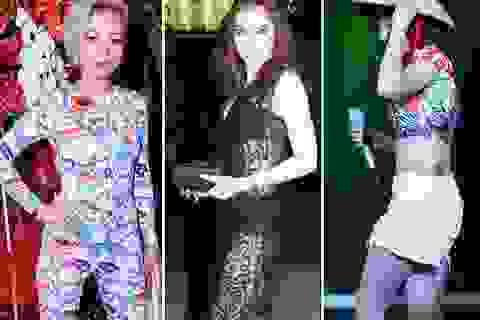 Thảm họa thời trang Sao Việt