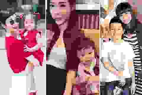 Những bà mẹ đơn thân xinh đẹp của showbiz Việt