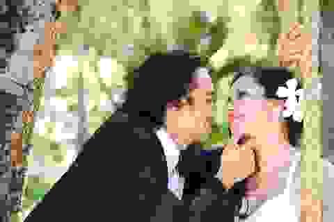 Việt Trinh bất ngờ tung ảnh cưới cùng Đức Hải ở resort triệu đô