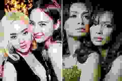 Những cặp chị em sao Việt xinh đẹp
