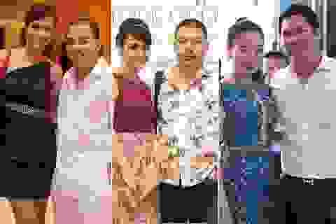 """Những cặp đôi """"chồng xấu - vợ xinh"""" của showbiz Việt"""