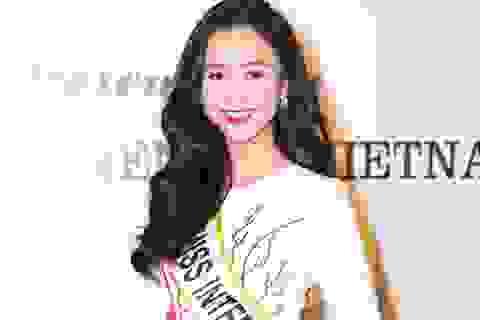 Hé lộ ba lý do Hà Thu được  chọn tham gia Hoa hậu Liên lục địa 2015
