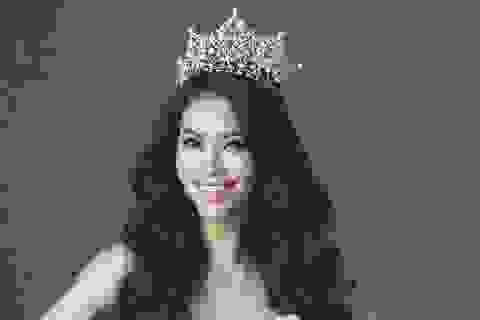 Hoa hậu Phạm Hương chính thức dự thi Hoa hậu Hoàn vũ 2015
