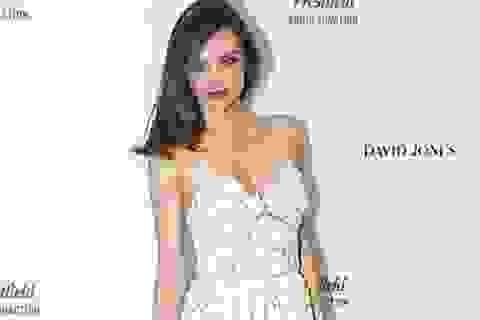Cựu thiên thần Victoria's Secret sexy với váy ren