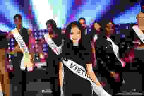 Hà Thu lọt top 17 Hoa hậu Liên lục địa