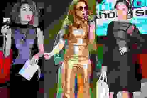 Nhìn lại thảm họa thời trang showbiz Việt 2015