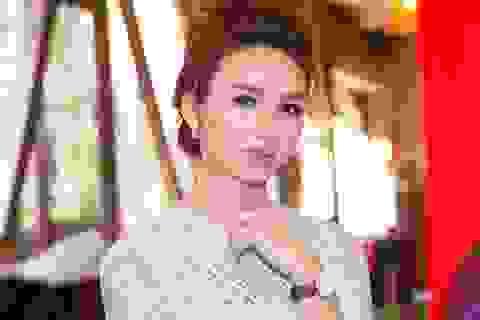 Hoa hậu Ngọc Diễm làm MC
