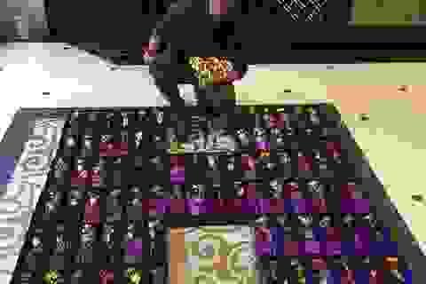 """Mr Đàm """"chịu chơi"""" tặng 200 bông hồng mạ vàng cho khán giả nữ"""