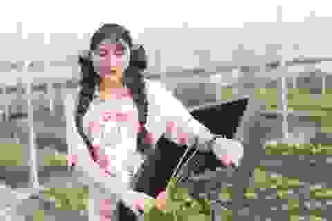 Hot girl 9x xinh đẹp kinh doanh dịch vụ rau sạch với dự án tiền tỷ
