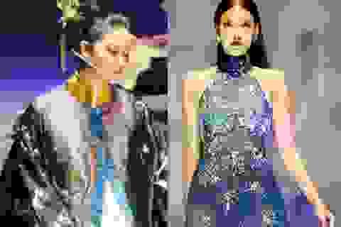 Lan Khuê sắc lạnh, Phạm Hương nức nở trên sàn diễn thời trang