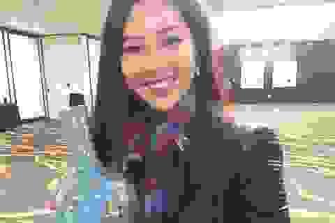 Diệu Ngọc bật mí về vật phẩm đấu giá tại Hoa hậu Thế giới