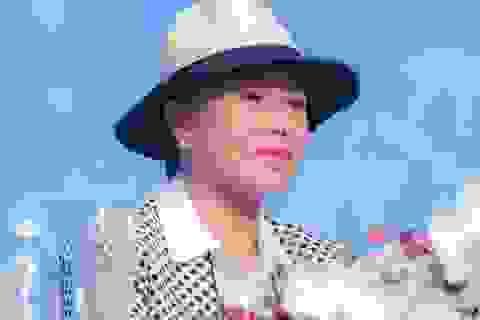 """Danh ca Thanh Tuyền: """"Ông xã chưa bao giờ xuất hiện bên tôi"""""""