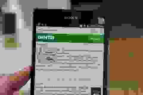 Phablet tầm trung của Sony bất ngờ bán sớm tại Việt Nam