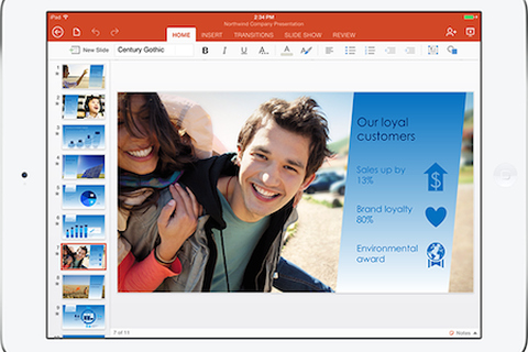 Microsoft Office chính thức có mặt miễn phí trên iPad