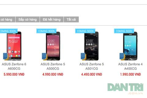 Asus Zenfone 4 sẽ bán tại Việt Nam dưới 2 triệu đồng?