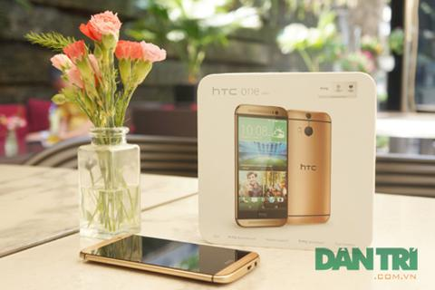 Xuất hiện HTC One M8 Gold đầu tiên về Việt Nam