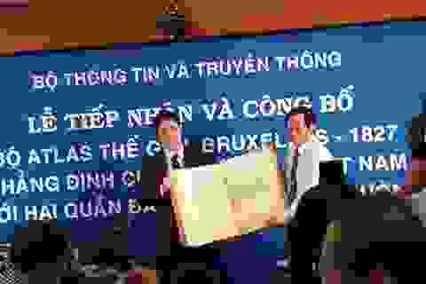 Bản đồ Atlas châu Âu khẳng định chủ quyền Việt Nam