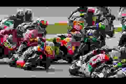 Những hình ảnh đáng nhớ tại chặng 17 MotoGP