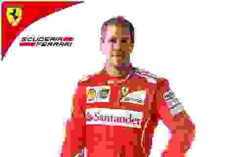 Sebastian Vettel - Khởi đầu với Ferrari