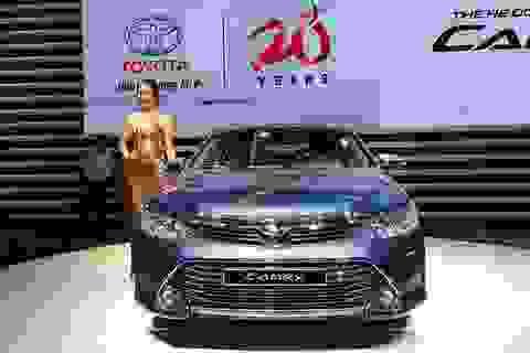 Toyota Camry mới có giá bán từ 1,078 tỷ đồng