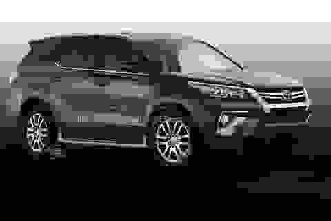 Toyota Fortuner 2016 sẽ thay đổi mạnh?