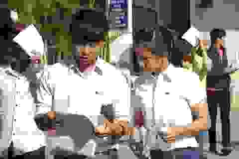 Khối trường Công an: Điểm chuẩn hệ CĐ, TCCN cao ngất ngưởng