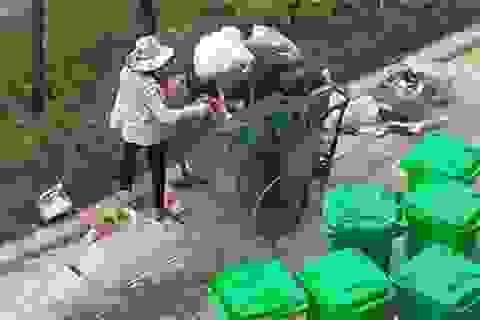 Những hình ảnh xấu xí tại chung cư ở Hà Nội