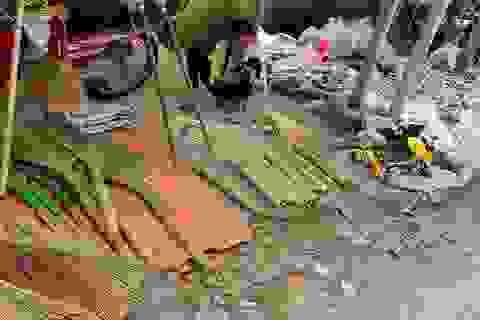 Hồn quê trong chợ phiên giữa lòng Hà Nội
