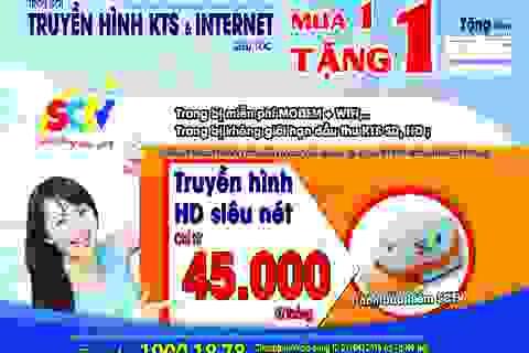 Xứng tầm giải Vàng chất lượng quốc gia, SCTV tăng chất lượng, giảm giá dịch vụ tại Hà Nội