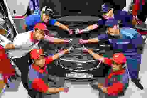 Bridgestone mở dịch vụ chăm sóc lốp xe kiểu mới
