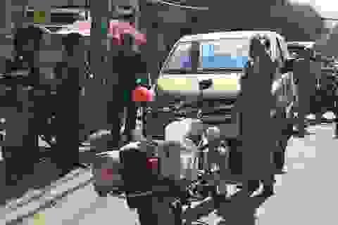 Nổ súng khống chế lái xe khách tông Trưởng công an phường bỏ chạy