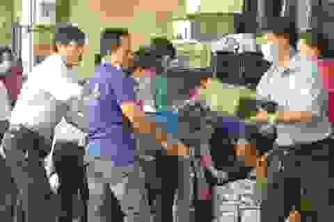 Cháy kho siêu thị Co.opmart ở trung tâm Sài Gòn