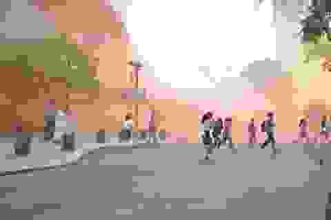 2.000 người tháo chạy khỏi đám cháy giả định ở tòa nhà cao nhất TPHCM