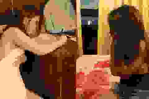 Gái gọi thuê khách sạn để chờ khách đến mua dâm