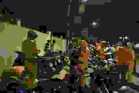 """Cảnh sát đặc nhiệm đập tan kế hoạch """"bão đêm"""""""