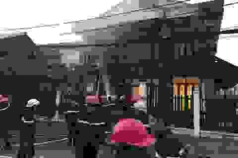 TPHCM: Cháy nhà 2 tầng, ít nhất 2 người tử nạn