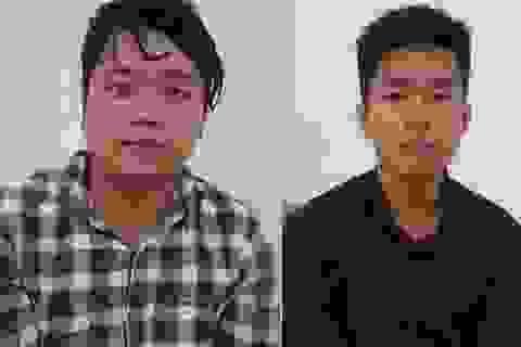 Hai thanh niên dí dao cướp xe máy của cô gái lúc rạng sáng