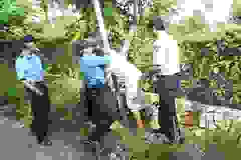 """Vụ công ty """"ăn"""" đường công cộng: Công an huyện Phú Quốc đang xác minh xử lý"""
