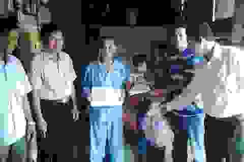 Hơn 37 triệu đồng đến với gia đình cháu Lê Thị Cẩm Hà