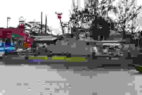 Biên phòng Sóc Trăng, Cà Mau tiếp nhận tàu tuần tra, cứu hộ mới