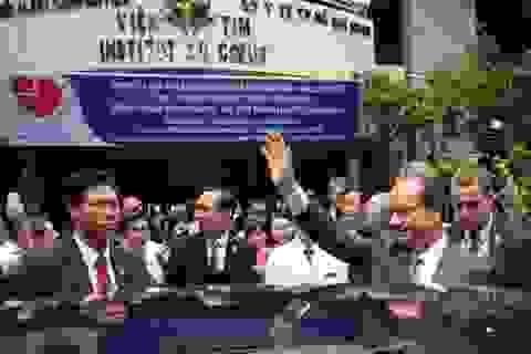 Tổng thống Pháp cam kết tiếp tục hỗ trợ y tế cho Việt Nam