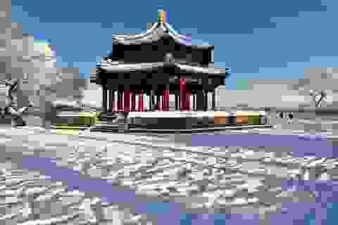 Bắc Kinh đẹp mê hồn đón trận tuyết đầu mùa