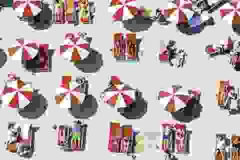 Hình ảnh siêu thú vị của các bãi biển khi nhìn từ trên cao