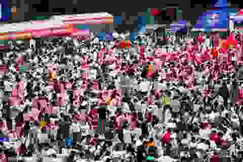 """Du khách Trung Quốc """"càn quét"""" hơn 30 tấn tôm hùm đất trong ngày hội"""