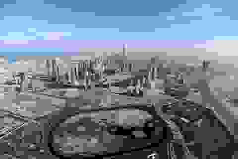 Khoảnh khắc hoành tráng đẹp khó tin của Dubai nhìn từ trên cao