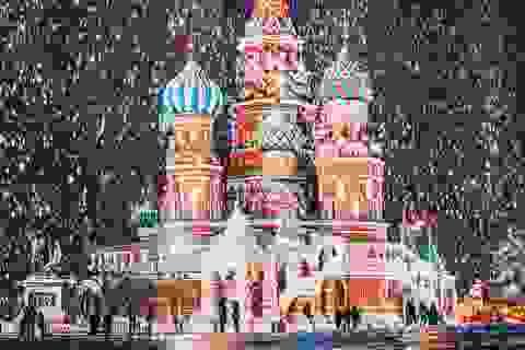 """""""Trái tim nước Nga"""" đẹp mơ màng trong những ngày đông"""