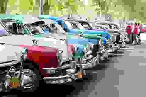 """Đường phố Cuba - """"bộ sưu tập"""" khổng lồ những cỗ xe cổ"""
