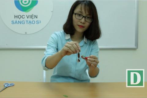 Khoa học vui:Tuyệt chiêu làm nam châm điện bằng các vật dụng đơn giản