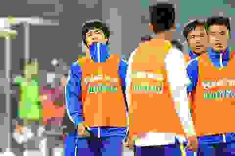 HA Gia Lai sẵn sàng cho trận đấu với Than Quảng Ninh bất chấp thời tiết xấu