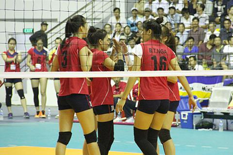 Tuyển nữ Việt Nam trắng tay, Trẻ Thái Lan vô địch giải bóng chuyền quốc tế 2015